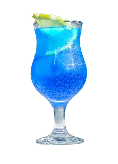 Blue Curacao Italian Soda