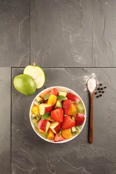 Seasonal Fruit Chaat