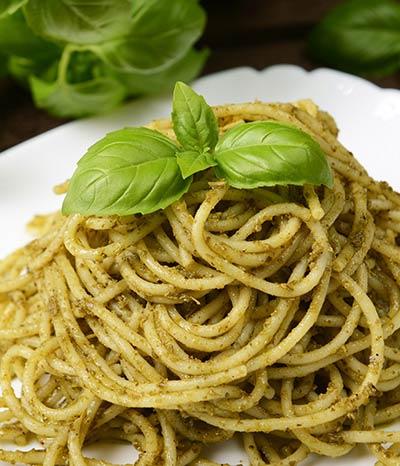 Pasta in Pesto Sauce