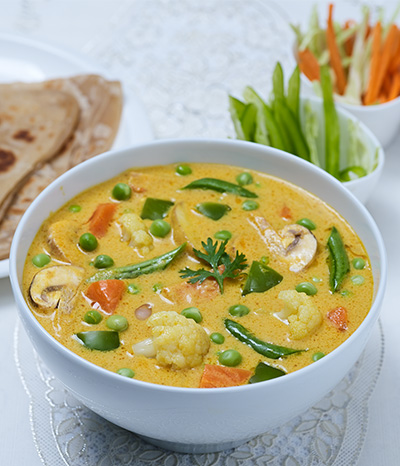Vegetable Mushroom Sabji