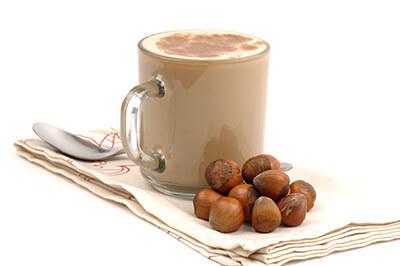 Roasted Hazelnut Flavoured Milk