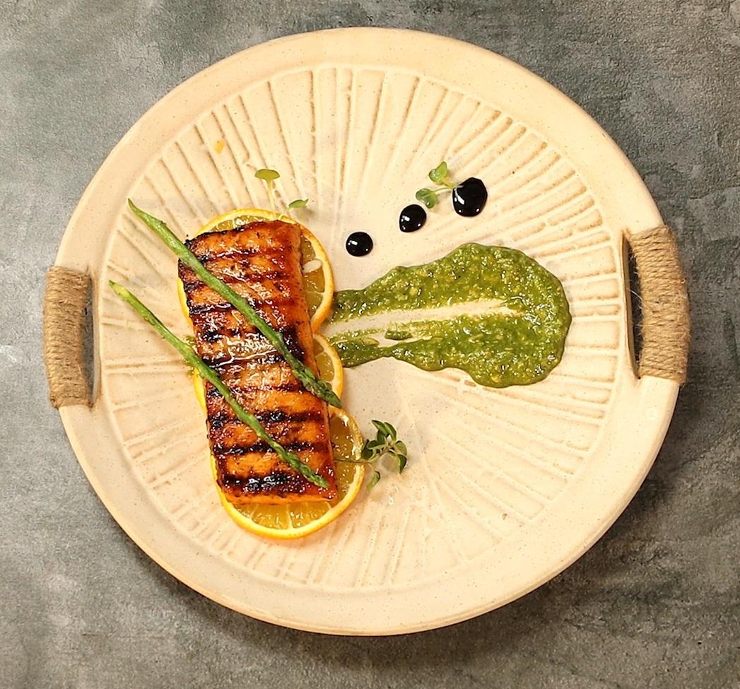 Cajun Spice Grilled Salmon