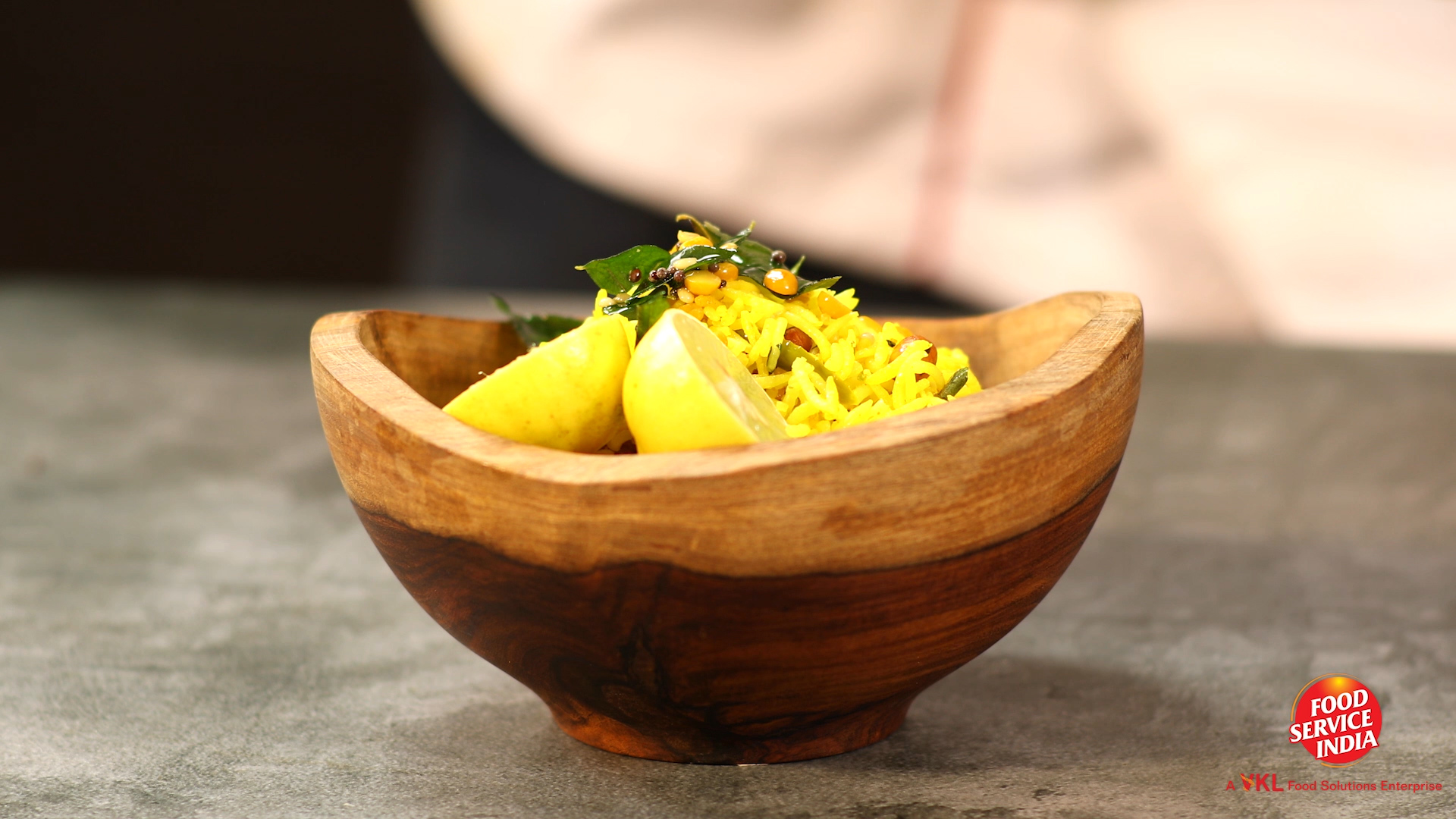 Andhra Style Lemon Rice